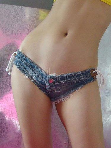 Denim Sexy Brief Club Bottoms Cheap clothes, free shipping worldwide