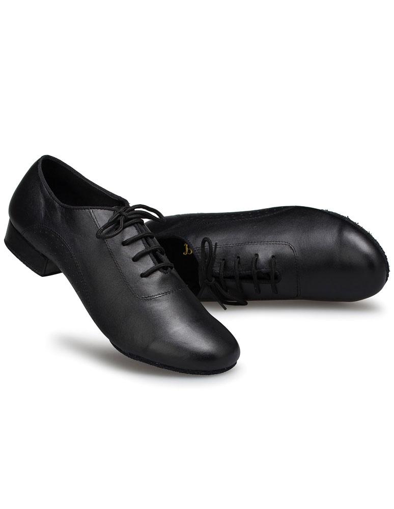 Zapatos baile latino zapatos negro Latin Dance baile zapatos de la PU para los hombres 2TXEDnFq
