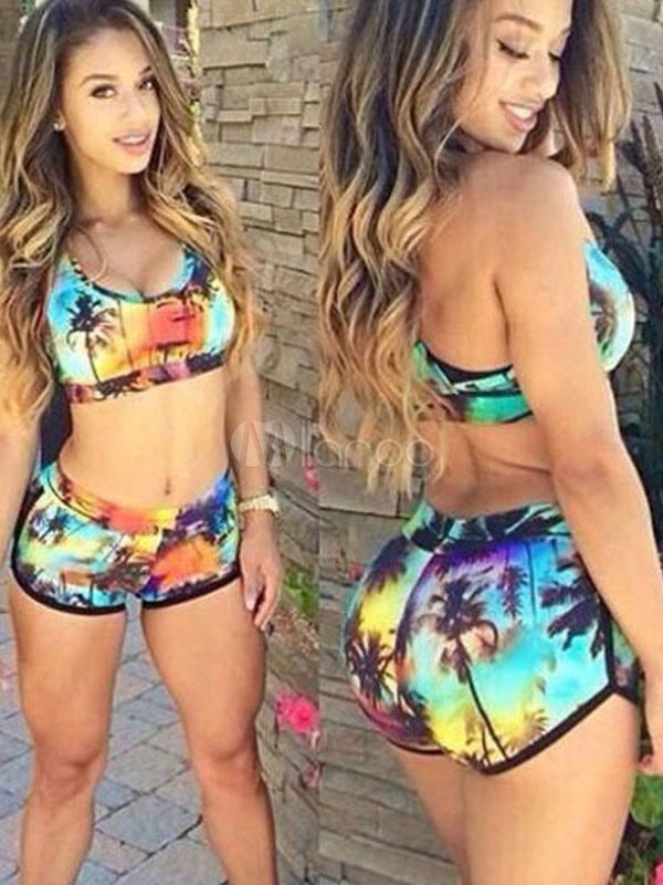 Bikini with numbers