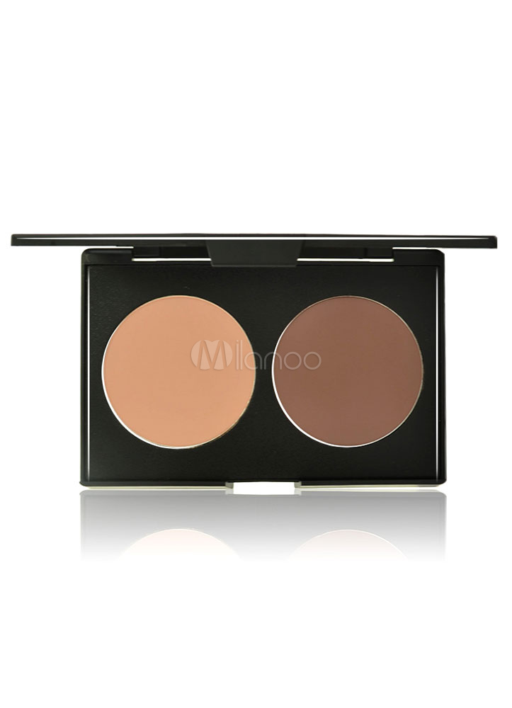 Nude 2 Colors Pressed Powder Makeup Cheap clothes, free shipping worldwide