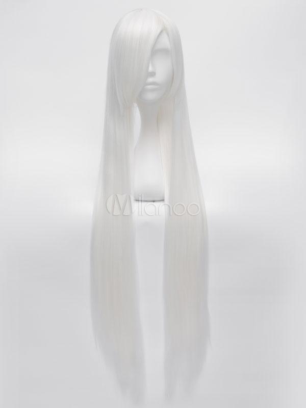 X-Men Storm Cosplay Wig Ororo Munroe White Long Cosplay Wig Halloween