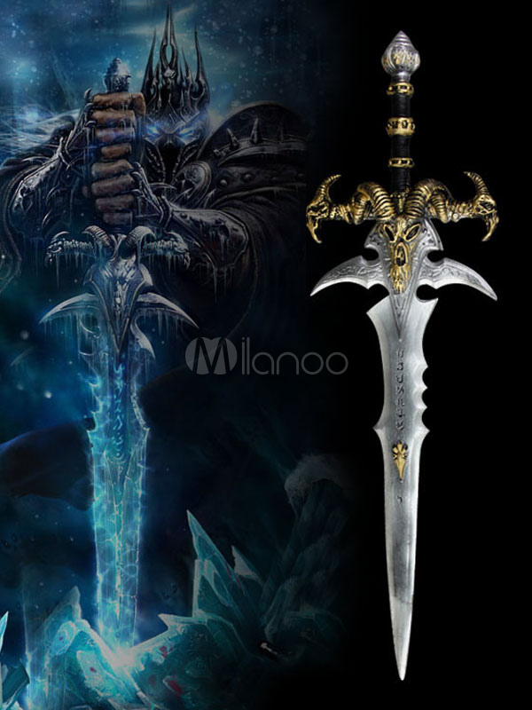 World of Warcraft Frostmourne Cosplay Weapon WOW Cosplay Accessories Halloween