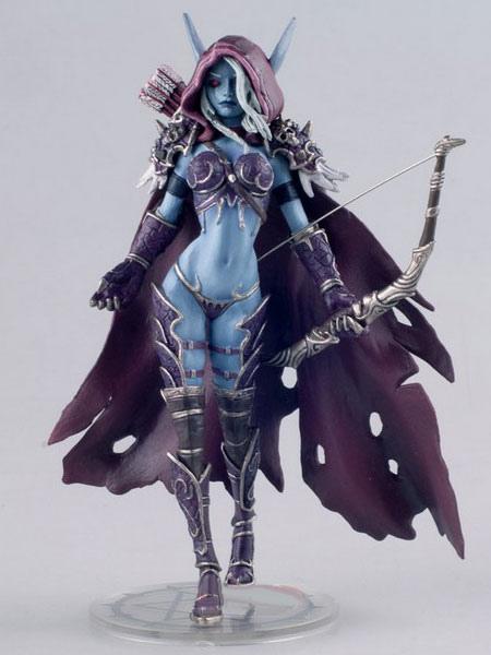 World of Warcraft Sylvanas Windrunner Figure Halloween