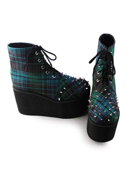 Zapatos de lolita verdes oqSvLqd