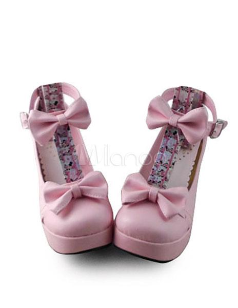 Zapatos de lolita rosa X6d5H