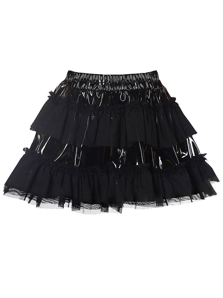 Tiered Pintuck Tutu Skirt Cheap clothes, free shipping worldwide