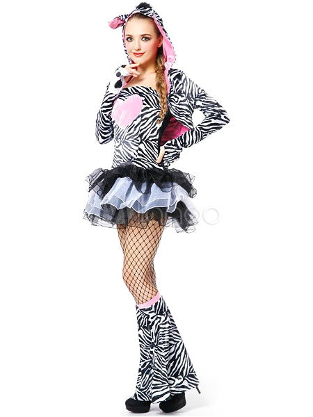 Sexy Zebra-Kleid