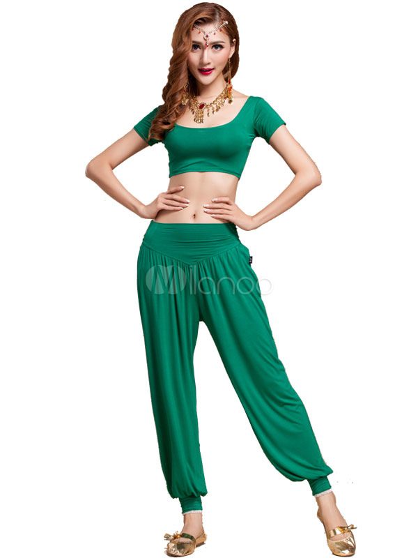 Belly Dance Practice Suit Modal Adult Dancing Costumes for Women