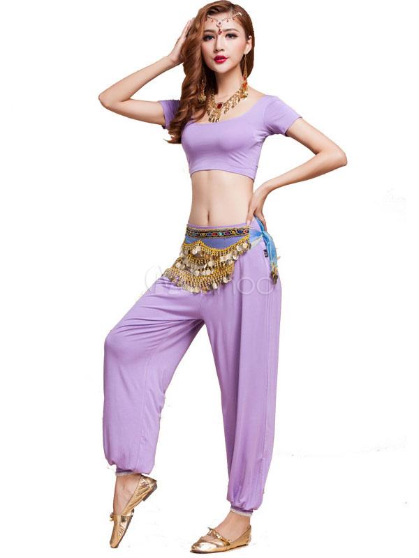 Danza del vientre práctica traje Modal adulto trajes de baile para ...