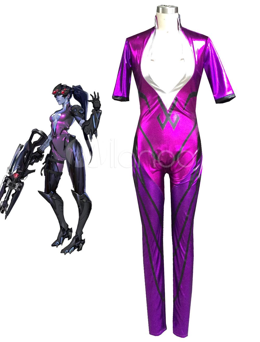 Overwatch OW Widowmaker Cosplay Costume  Halloween