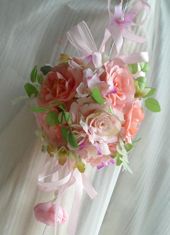 lanterne boule de fleurs pour r ception de mariage. Black Bedroom Furniture Sets. Home Design Ideas