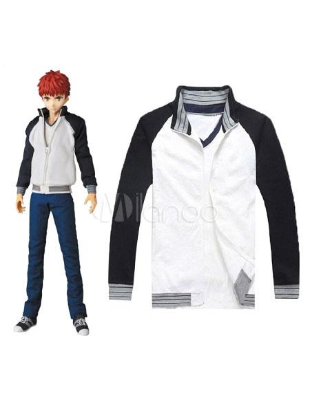 Fate Stay Night Emiya Shirou T-shirt Jacket Cosplay Suit Halloween