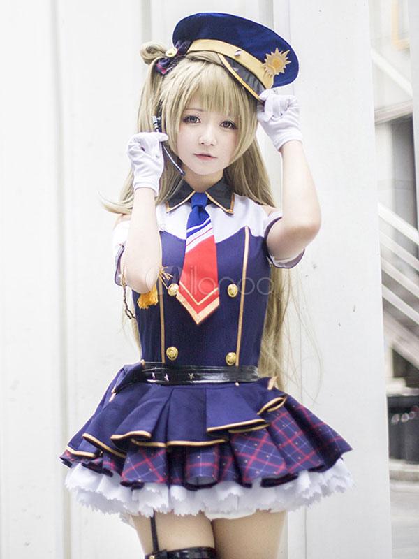 Love Live! Minami Kotori Cosplay Costume Minami Kotori PoliceWomen Halloween Cosplay Halloween