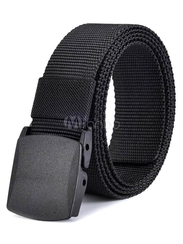 Cool Black Casual Belt Waistband For Men