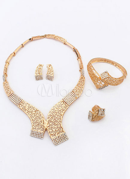Collar-shaped Jewelry Sets