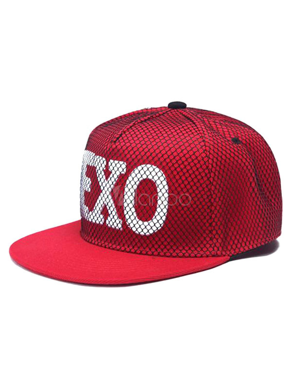 4b52e9307ef ... netherlands red street style baseball cap with exo logo no.1 db4b0 eda64