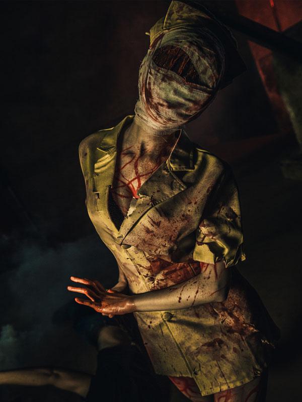 Buy Silent Hill Nurse Halloween Cosplay Costume Halloween for $50.99 in Milanoo store