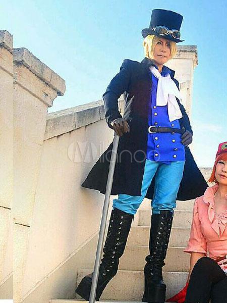 Buy One Piece Sabo Halloween Cosplay Costume Sabo 12 Years Later Cosplay Costume Halloween for $118.99 in Milanoo store