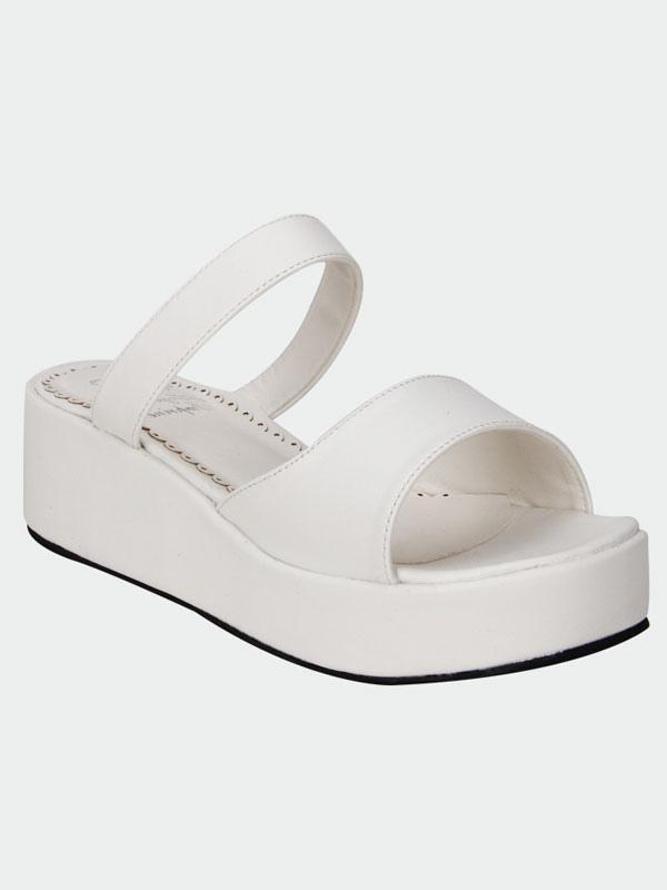 Descuento Footlocker Pictures Lolita blanco mate plataforma sandalias zapatillas Sitio oficial de envío gratis Comercializable en línea barato Descuento particular Barato 2018 C3MNB