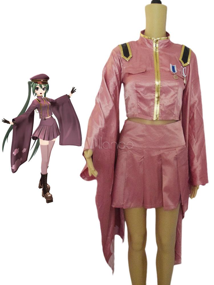 vocaloid hatsune miku senbon zakura halloween cosplay costume halloween no1