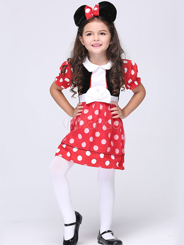 Halloween Mickey Mouse Costume Animal Costume Cosplay for Kid Halloween