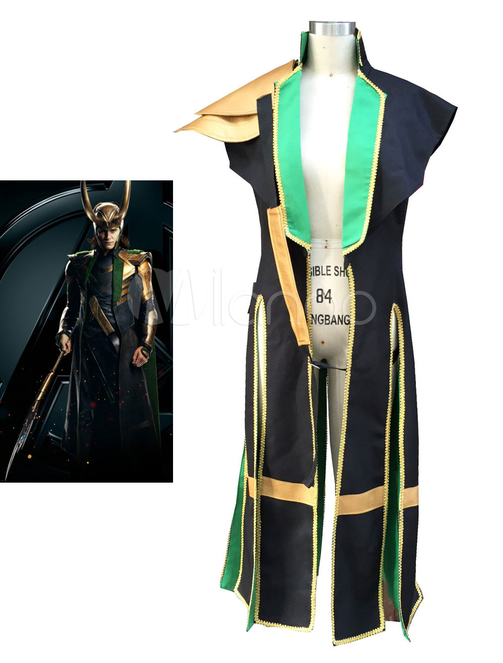Buy Avengers Thor Loki Halloween Cosplay Costume Marvel's Comic Cosplay Costume Halloween for $101.99 in Milanoo store