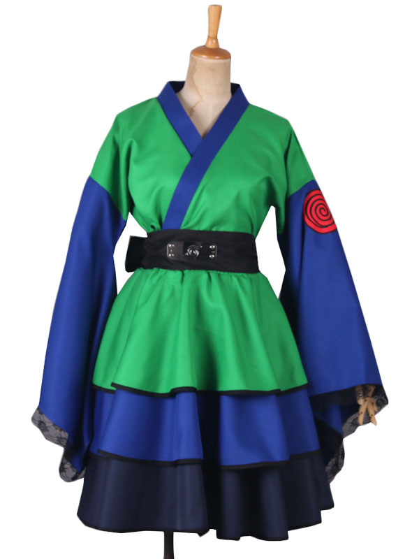 Naruto Hatake Kakashi Cosplay Costume Girl Version Lolita Dress Halloween