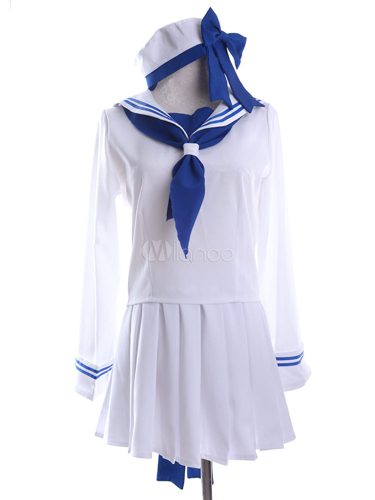 Buy Anime Seifuku School Uniform Cosplay Costume Wadanohara To Wadanohara Sailor Uniform Halloween for $61.99 in Milanoo store