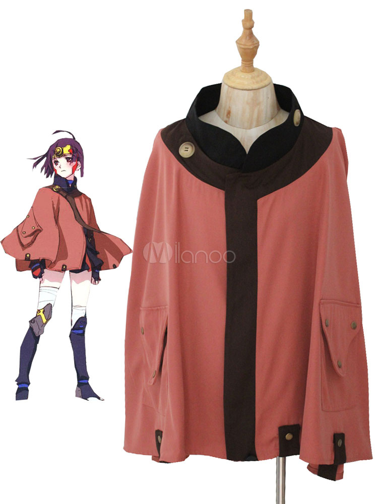 Buy Kabaneri Of The Iron Fortress Mumei Fighting Uniform Cloak Anime Cosplay Costume Koutetsujou No Kabaneri Cosplay Halloween for $32.19 in Milanoo store