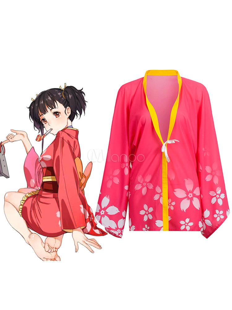 Buy Kabaneri Of The Iron Fortress Mumei Haori Summer Kimono Anime Cosplay Costume Koutetsujou No Kabaneri Cosplay Halloween for $32.19 in Milanoo store