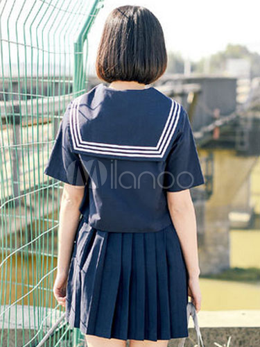 2b2f826220 ... Sweet School Girl Cosplay Costume Spring Japanese School Uniform  Halloween-No.2