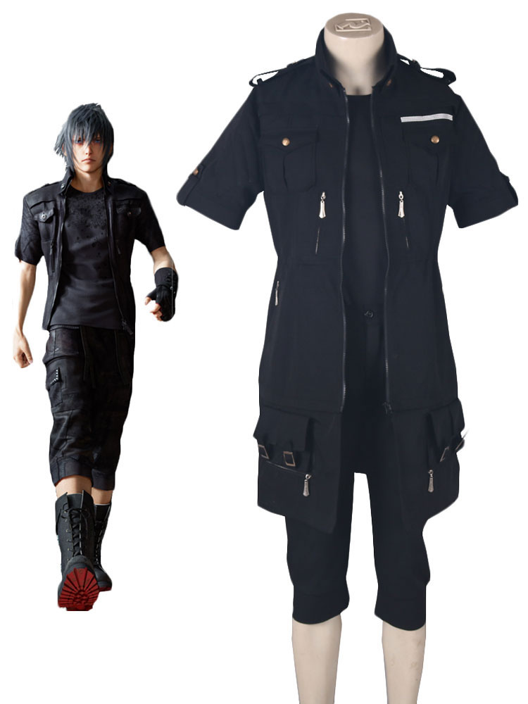 Final Fantasy XV Brotherhood Noctis Lucis Caelum Fighting Uniform Anime Cosplay Costume Halloween