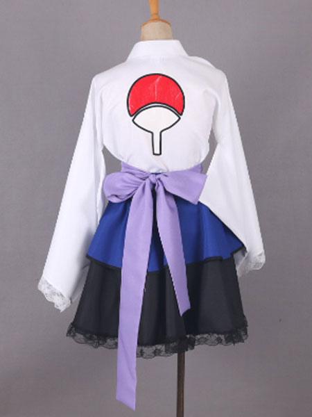 Naruto Shippuden Uchiha Sasuke hembra Lolita Kimono ...