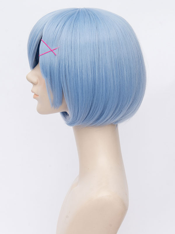 Re Zero Starting Life In Another World Rem Cosplay Wig ...