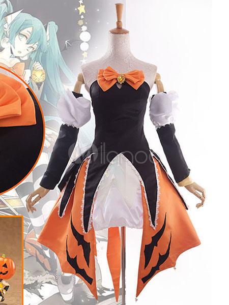 ... Vocaloid Hatsune Miku Cosplay Costume Halloween Miku Costume Halloween-No.2 ...  sc 1 st  Milanoo.com & Vocaloid Hatsune Miku Cosplay Costume Halloween Miku Costume ...