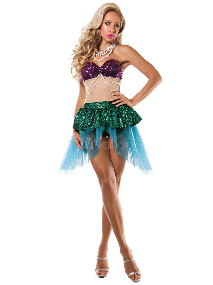 Sexy mermaid costumes for halloween
