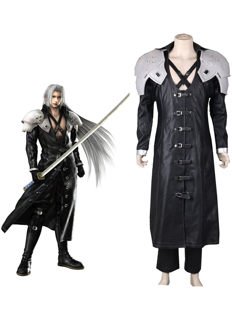 Final Fantasy Sephiroth Halloween Cosplay Costume Halloween
