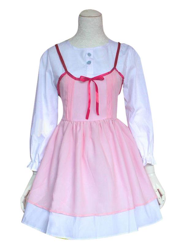 Your Lie In April Miyazono Kawori Cosplay Costume Pink Dress Halloween
