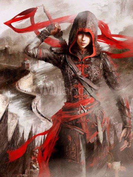 Inspired By Assassin's Creed Chronicles China Shao Yun Halloween Cosplay Costume