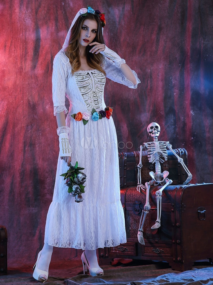 Único Disfraz De Halloween Vestido De Novia Foto - Vestido de Novia ...