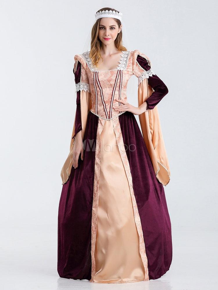 Damen Retro Kostüm Damen griechische Göttin Vintage Kleid Kostüm ...