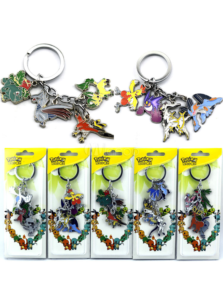 Buy Pokemon Go Pokemonster Anime Key Chain Halloween for $5.51 in Milanoo store