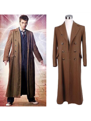 Doctor Who Peter Capaldi Halloween Cosplay OvercoatCostume Halloween