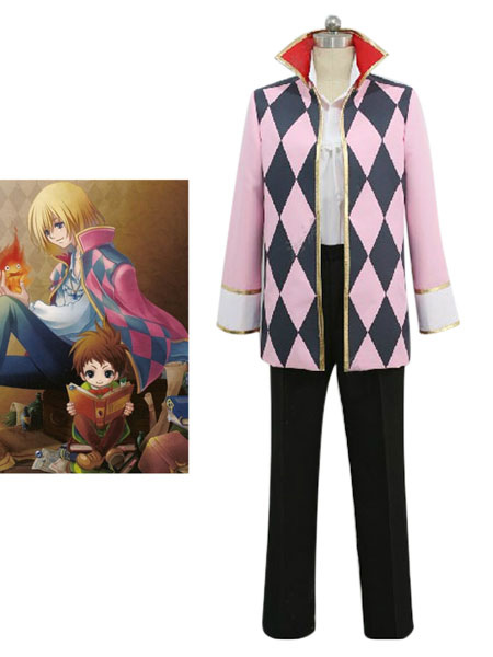 Howl's Moving Castle Howl Halloween Cosplay Costume Halloween