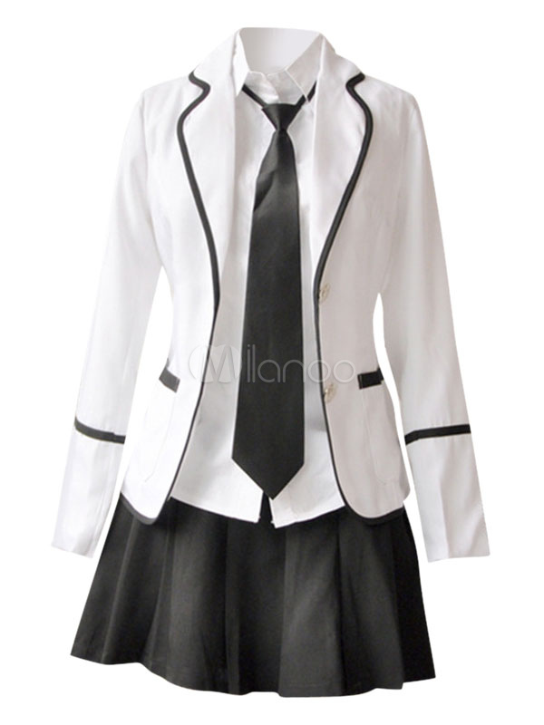 Buy Anime School Girl Uniform British School Uniform Suit Halloween for $63.99 in Milanoo store