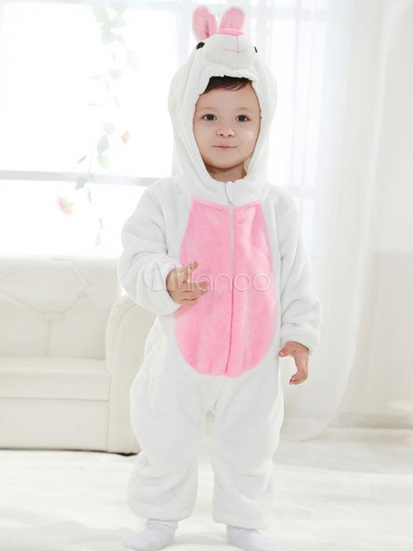 Conejito Kigurumi traje franela mono pijama lindo animales ropa de ...