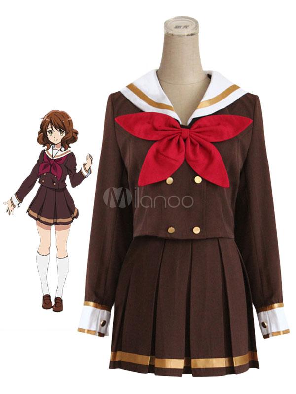 Sound! Euphonium Oumae Kumiko Cosplay Costume School Girl Uniform Halloween