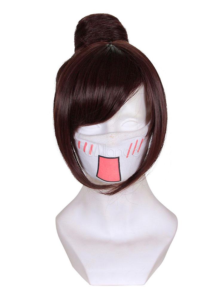 Overwatch Ow Mei Cosplay Wig Halloween
