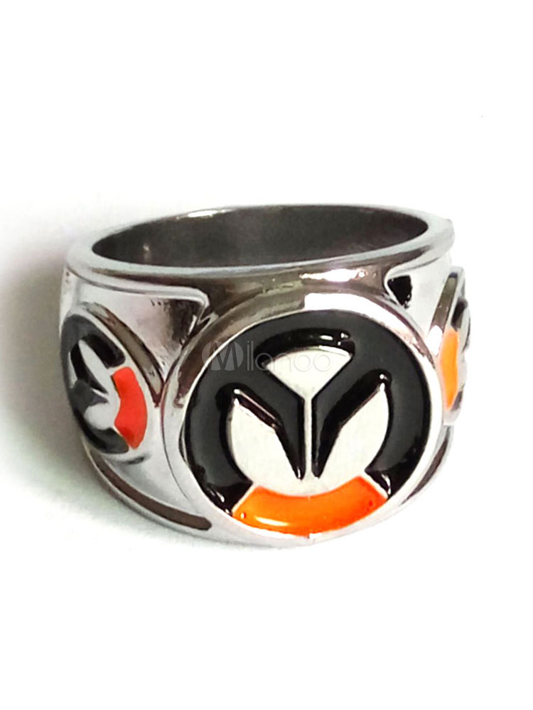 Overwatch Ow Ring Blizzard Video Game Ring Halloween