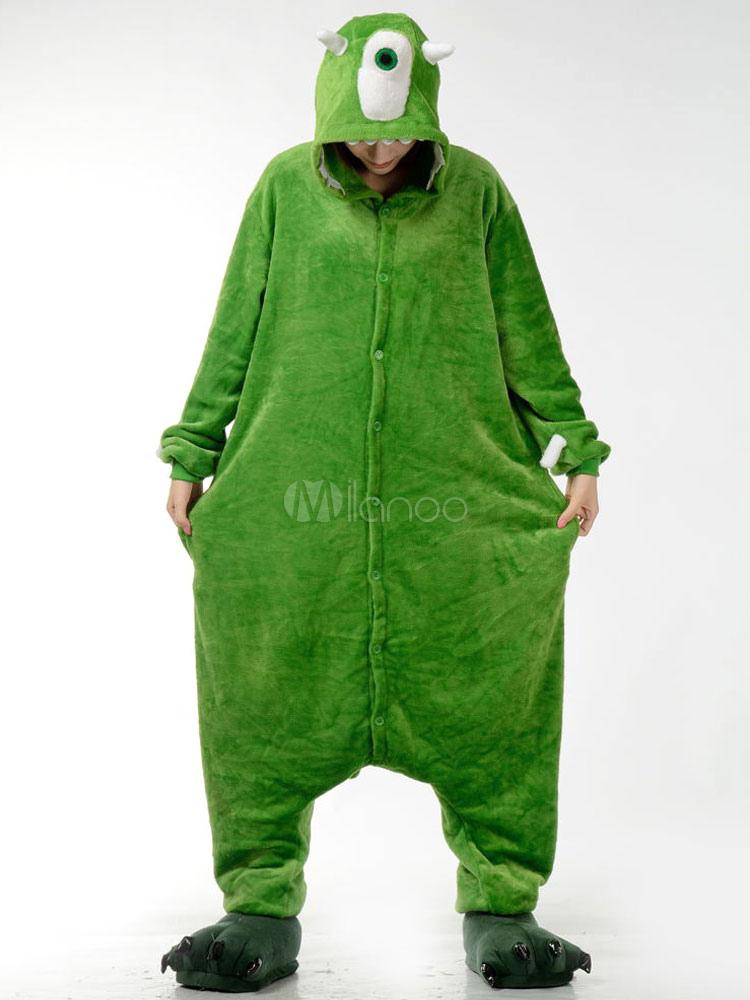 Mono de Kigurumi pijama Mike Wazowski Monster University para ...